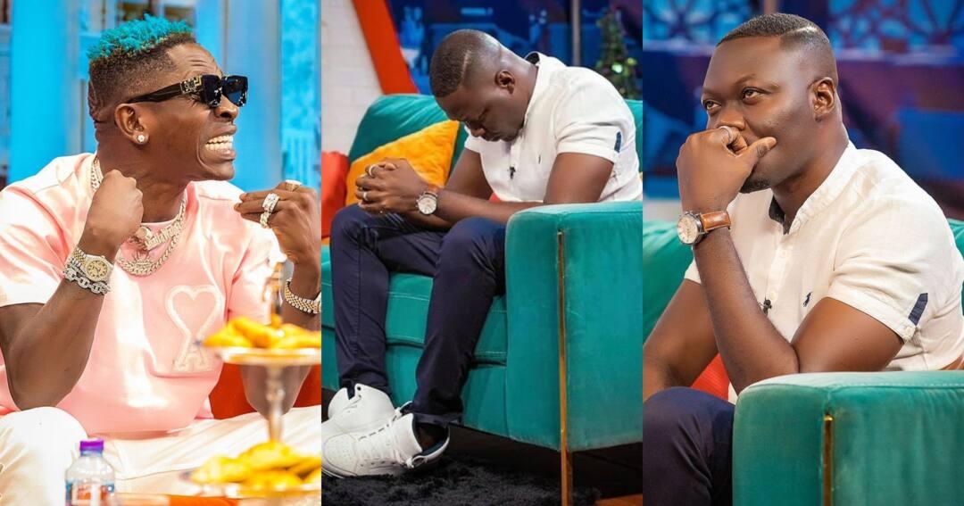 Shatta Wale and Arnold Asamoah Baidoo